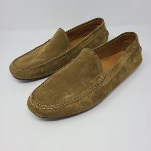 Ralph Lauren Purple Label Suede Mens Loafers 10D